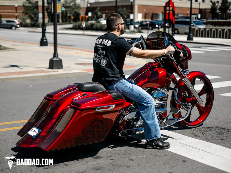 Baggers John s 2014 Street Glide Bad Dad Custom