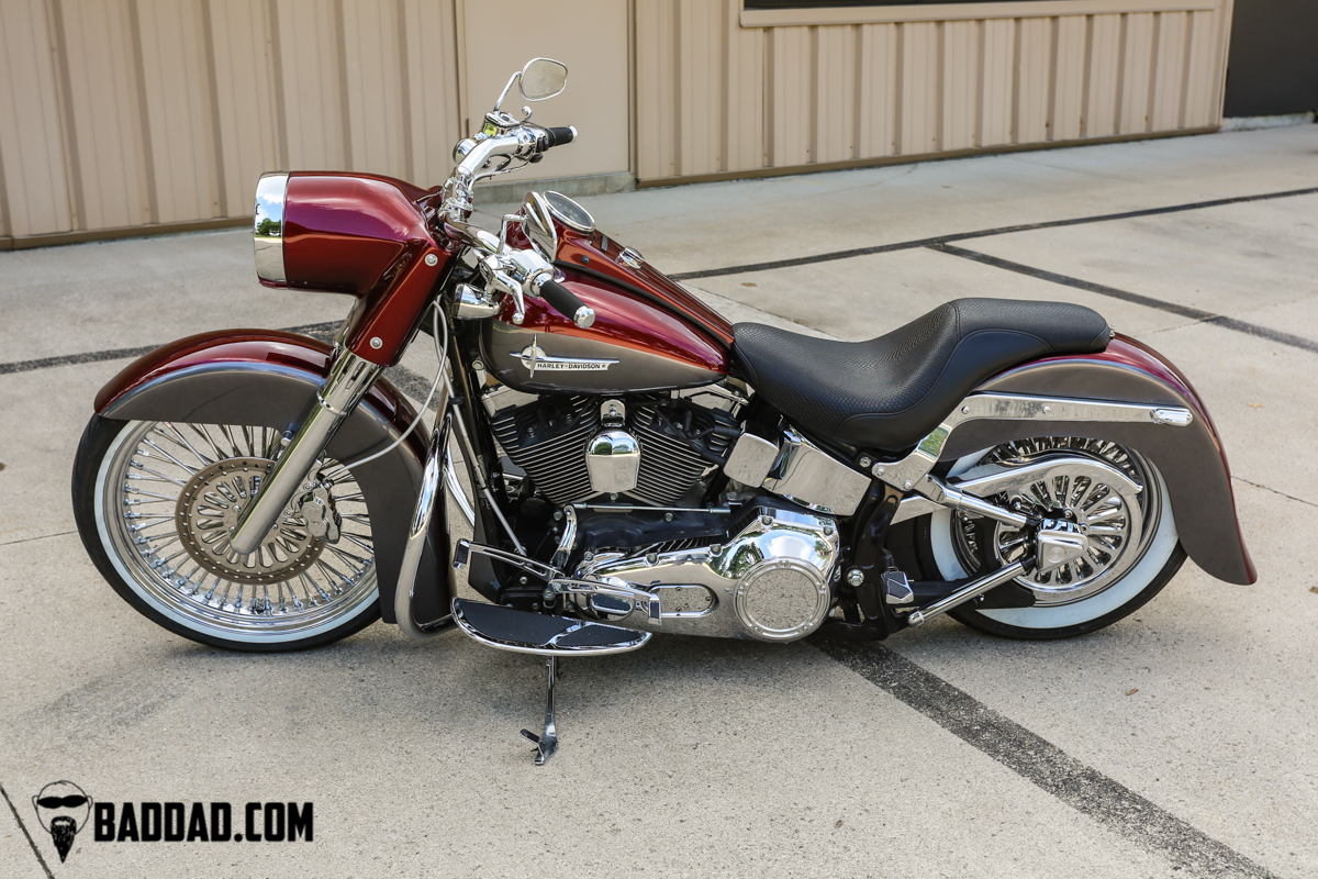 Softail Baggers Bad Dad Custom Bagger Parts For Your Bagger