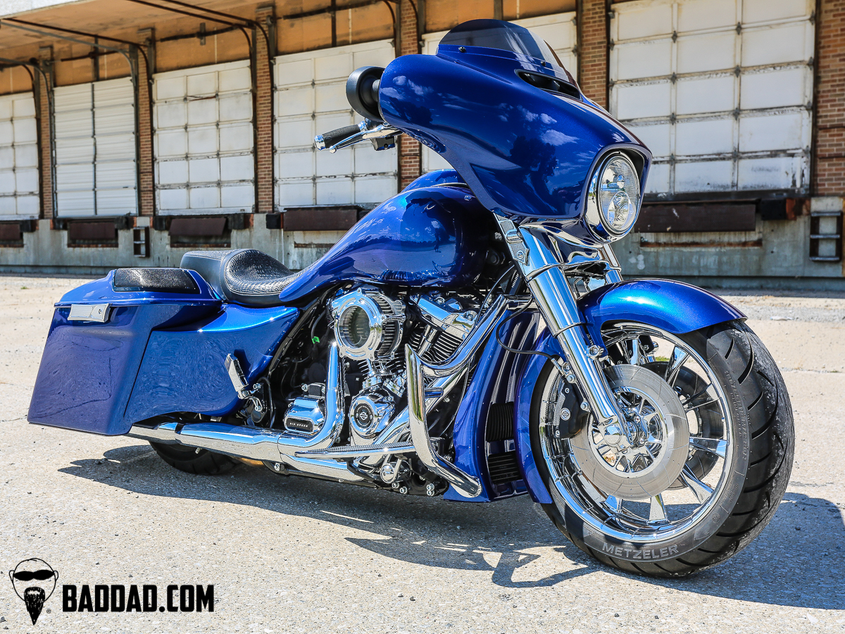 180mm Wide Tire Kit for 2014-2020 Touring Models