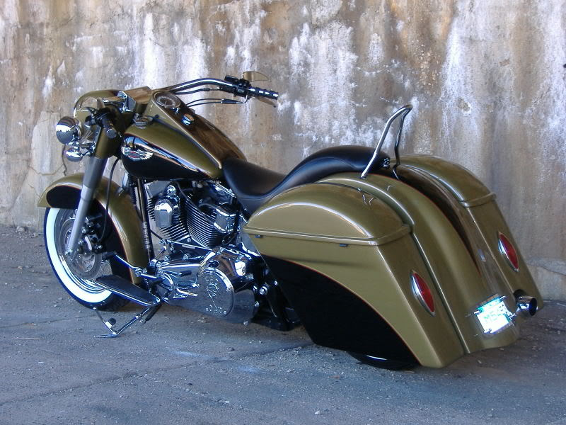 Softail Bagger Fender With Recess