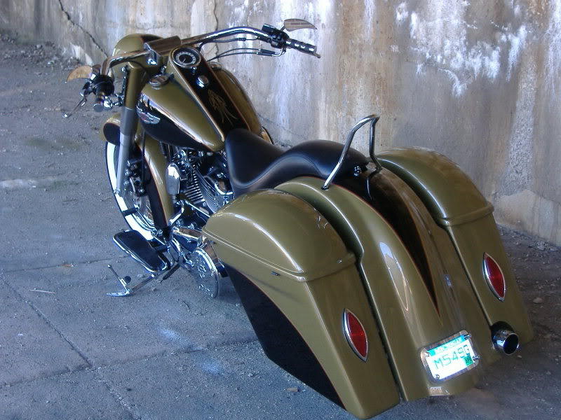 Bad Dad Custom Bagger Parts For Your Bagger Softail