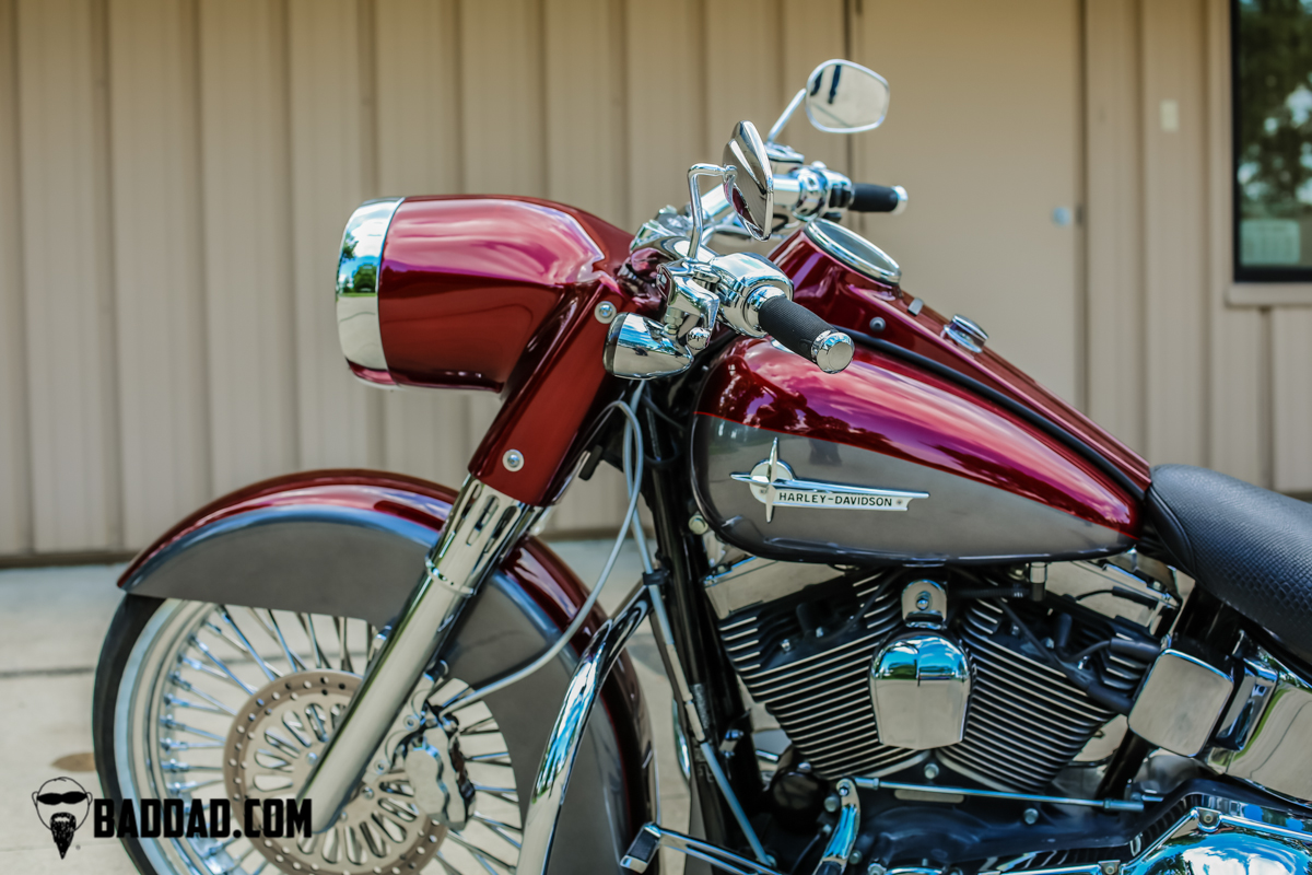 Softail Stretched Headlight Nacelle
