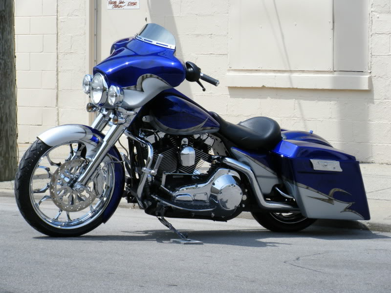 Injected Stretched Saddlebags For 1993 2013 Bad Dad