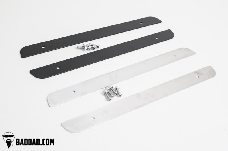 Skid Plates For Harley And Aftermarket Stock /& Extended Saddlebags Made 304 Stainless Steel