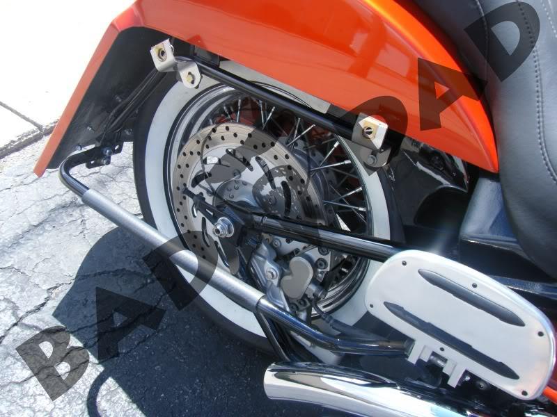 road star saddlebag bracket kit bad dad custom bagger