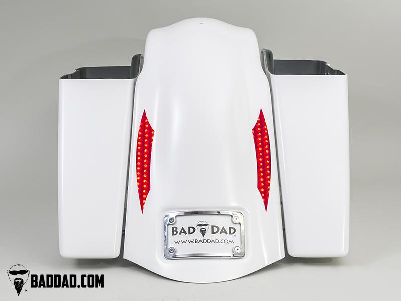 """Fender with Flush 10"""" LEDs"""