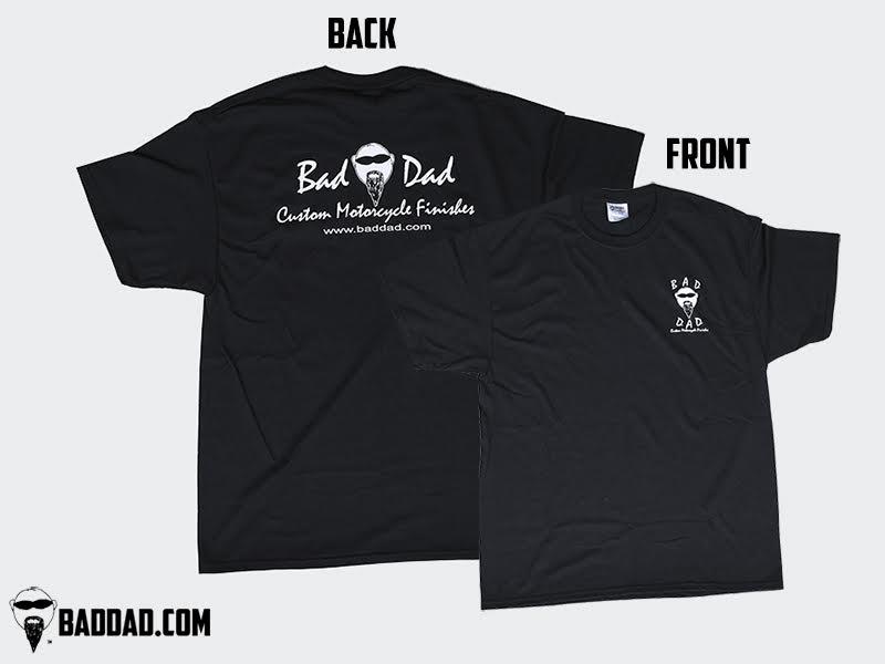 Shop shirt bad dad custom bagger parts for your bagger for Custom t shirts fort wayne
