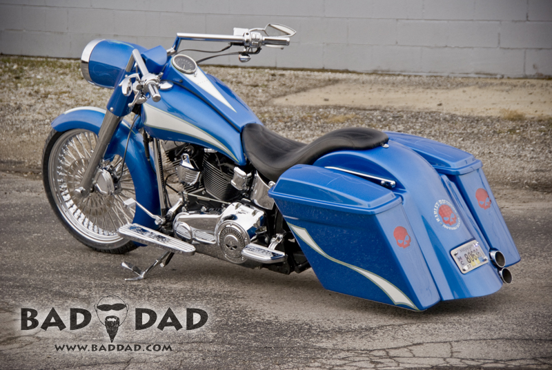 21 Quot Wrap Front Fender Bad Dad Custom Bagger Parts For