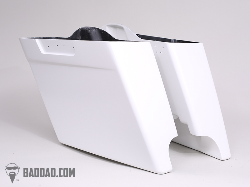Hand Laid Stretched Saddlebags for 1993-2013