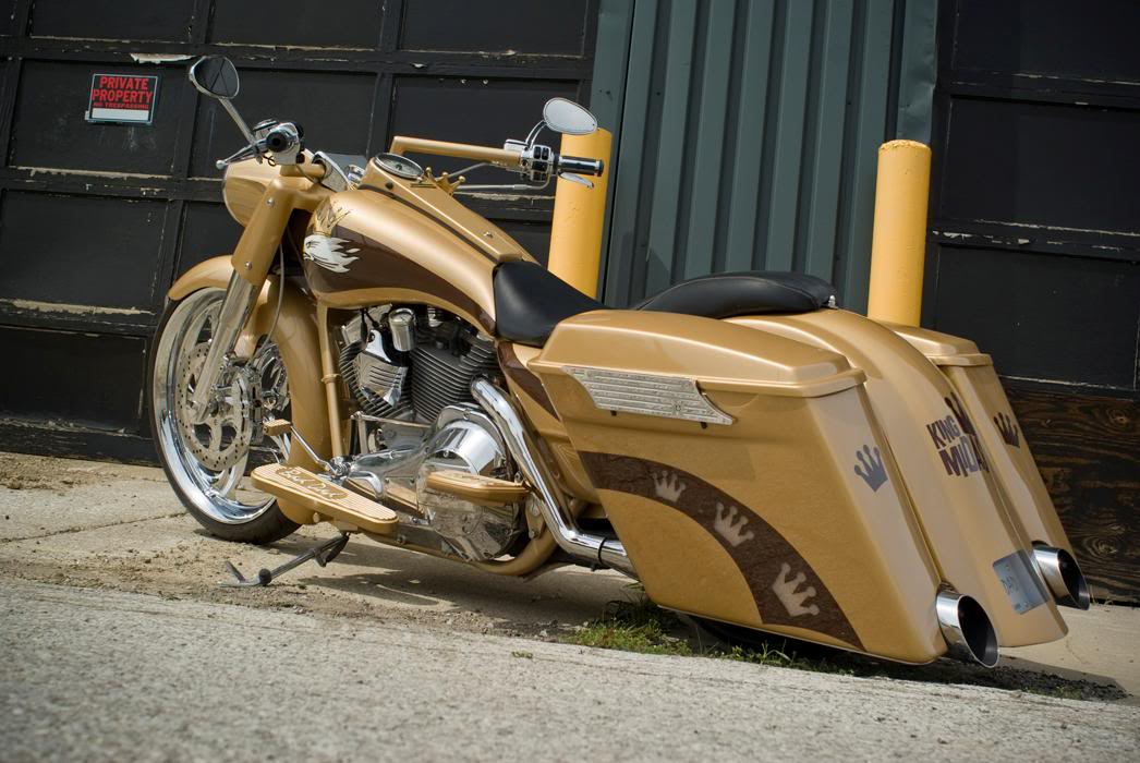 1 2 3 4 5 6 7 8 9 10 Hand Laid Stretched Saddlebags