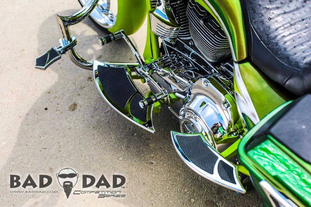 992 Rear Floorboards Bad Dad Custom Bagger Parts For