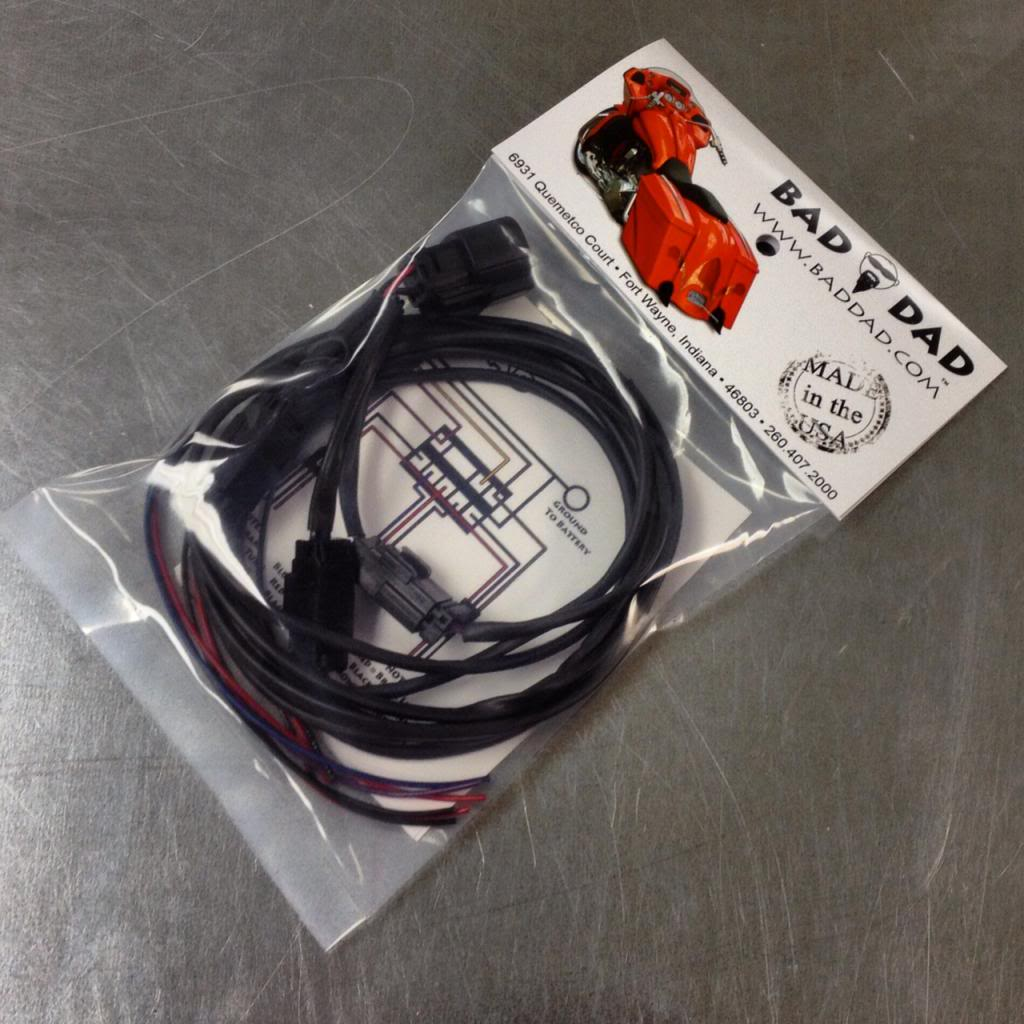 Wiring Harnesses Bad Dad Custom Bagger Parts For Your Harness Ends 2014 Touring