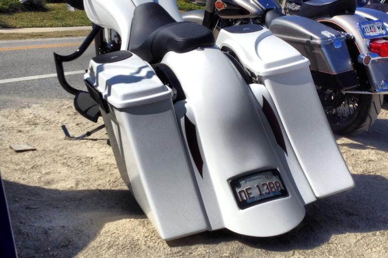 Compeion Series Stretched Saddlebags
