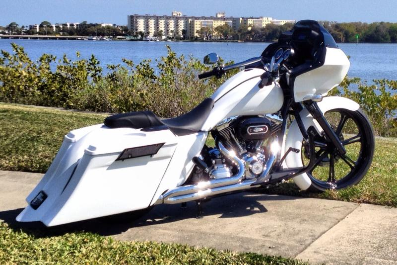 Harley Davidson Bike Covers >> Competition Series Fender for 2009-2013 | Bad Dad | Custom Bagger Parts for Your Bagger