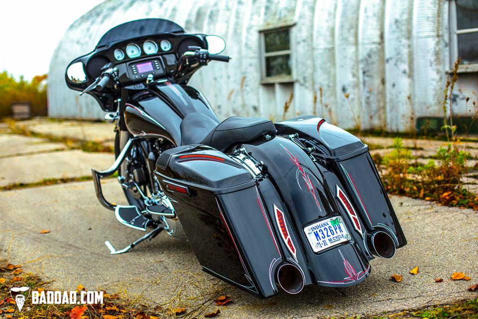 975 Engine Guard Bad Dad Custom Bagger Parts For Your