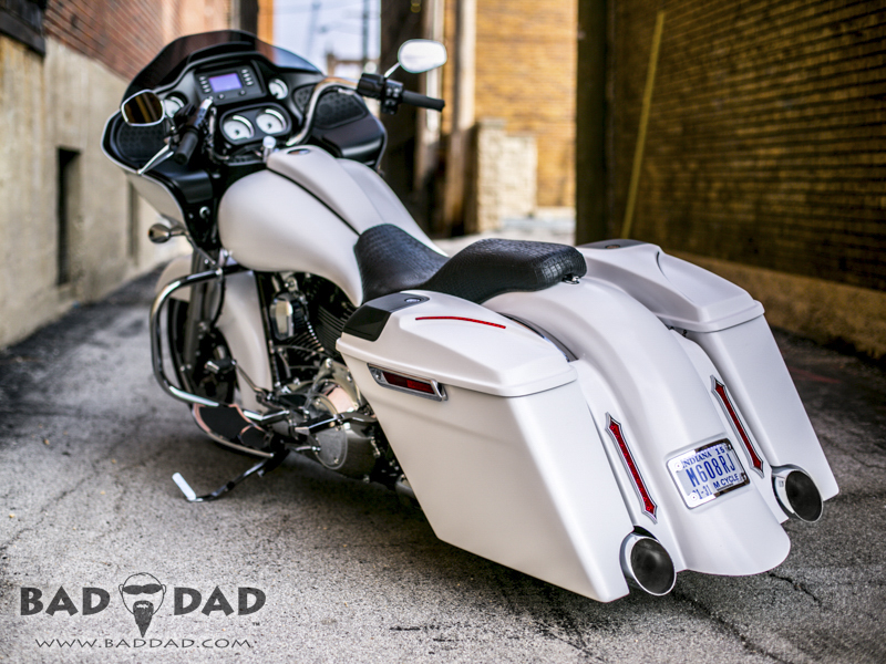 Injected Stretched Saddlebags For 2014