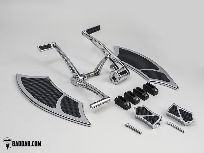 Forward Controls with Heel-Toe & 992 Floorboard Kit