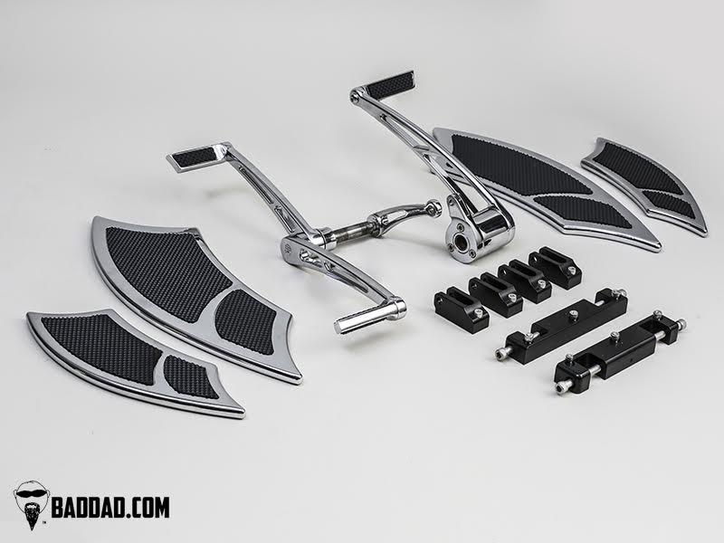 Forward Controls With Heel Toe Amp 992 Floorboard Kit Bad