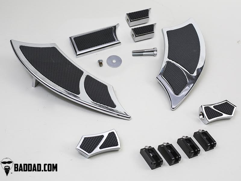 Floorboard Kit: 992 Boards with Passenger Pegs