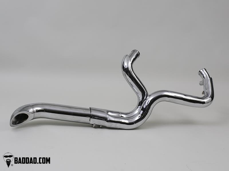 Exhaust Pipes | Bad Dad | Custom Bagger Parts for Your Bagger