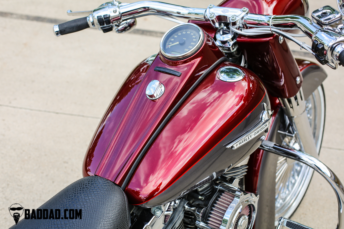 Classic Series Dash For Softail 2000 2017 Bad Dad