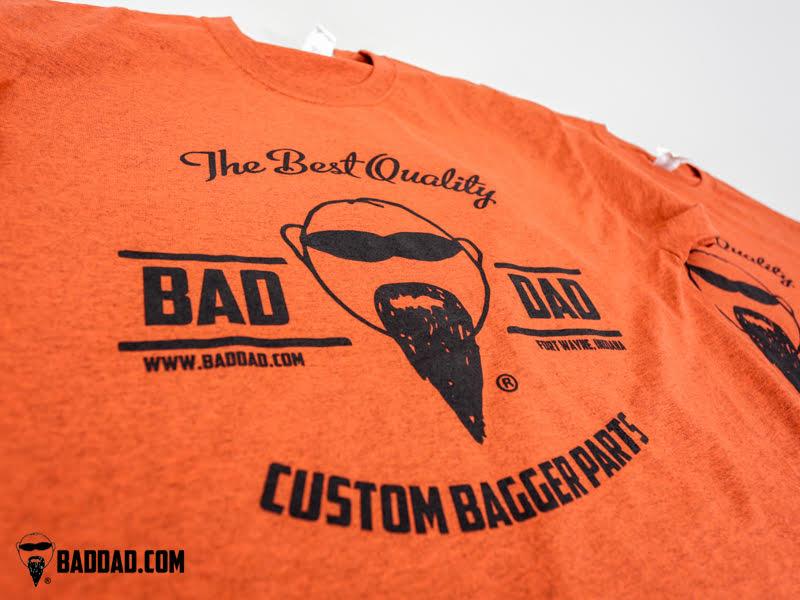 21c27ee0 Vintage Bad Dad Tee | Bad Dad | Custom Bagger Parts for Your Bagger