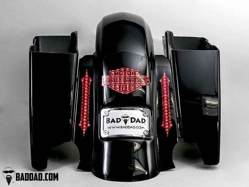 """Fender with Flush Brake Light & Flush 10"""" LEDs"""