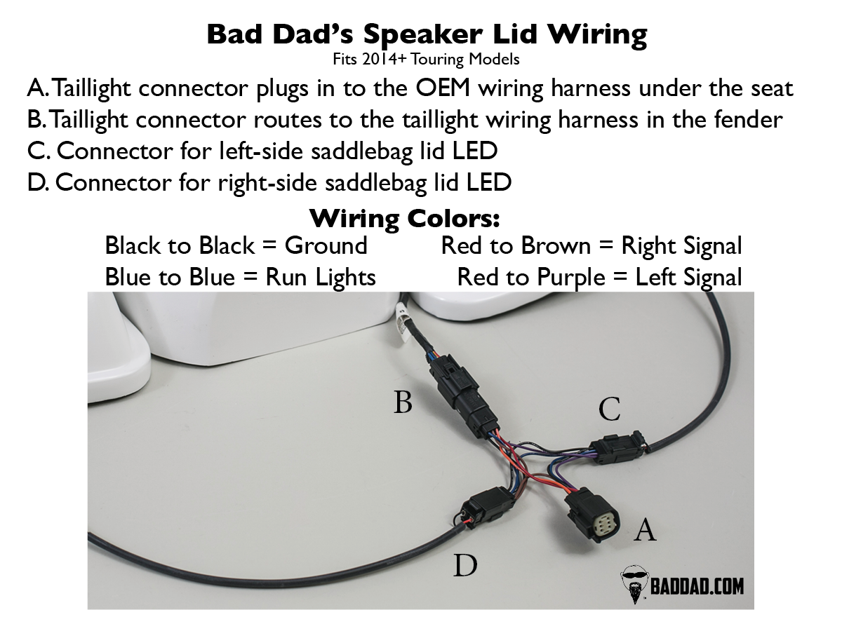2014 silverado bose speaker wiring diagram bad dad | custom bagger parts for your bagger | 2014 ...